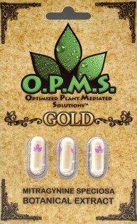 Order OPMS Gold Kratom Capsules Online - 3 caps | Buy Kratom Extracts