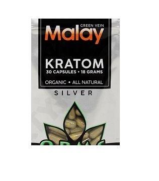 OPMS Silber Malay Kratom Capsules