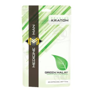 Medicine Man Green Malay Kratom (25ct)