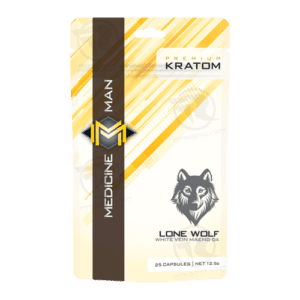 Medicine Man Lone Wolf Maeng Da Kratom (25ct)