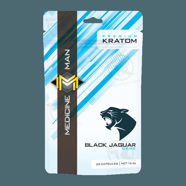 Medicine Man Black Jaguar Ultra Enhanced 30X Kratom Powder