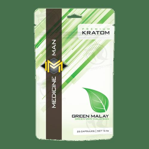 Medicine Man Green Malay Kratom Powder