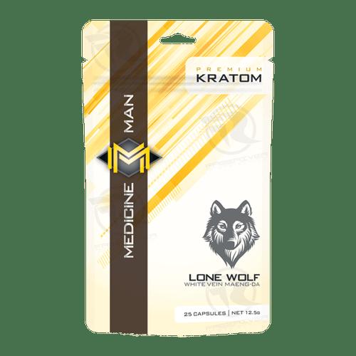 Medicine Man Lone Wolf Maeng Da Kratom Powder