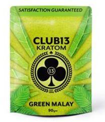 Club 13 Green Malay Kratom Powder (30g or 90g)