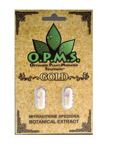OPMS Gold Kratom Extract Capsules (2 caps)