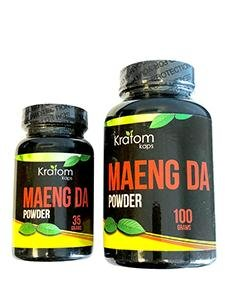 Kratom Kaps Maeng Da Powder (35g or 100g)