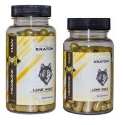 Medicine Man Lone Wolf Maeng Da Kratom - 2 sizes