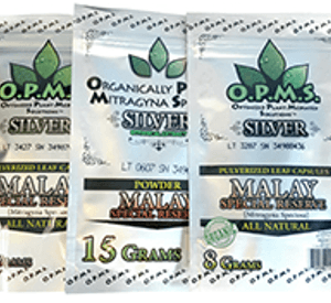 OPMS Kratom Silver Malay Special Reserve - 3 sizes