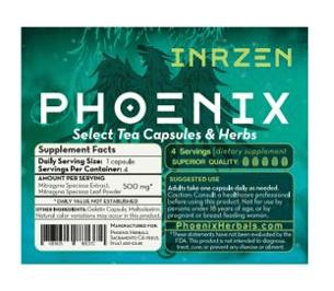 Phoenix Inrzen Extract Formula (4 caps)