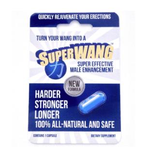 SuperWang Super Effective Male Enhancement (1ct)