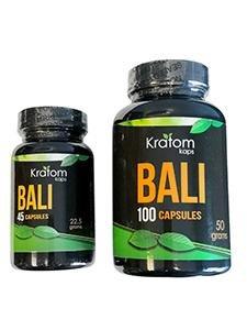 Kratom Kaps Bali Capsules - 2 Sizes