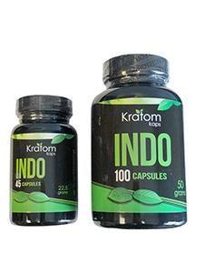Kratom Kaps Indo Capsules - 2 Sizes