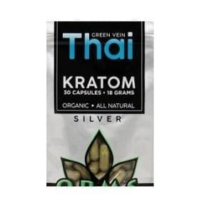 OPMS Kratom Silver Thai Capsules