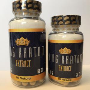buy King Kratom - Capsules 20 and 60 CT Bottles
